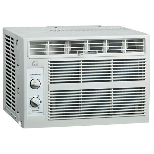Perfect Aire 5PMC5000 5,000 BTU 115V Compact Mechanical Window Air Conditioner