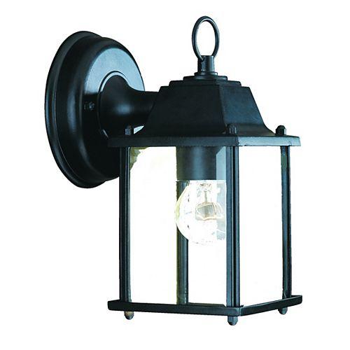 Acclaim Lighting Luminaire Mural Extérieur noir mat à 1 ampoule de la Collection Builder's Choice