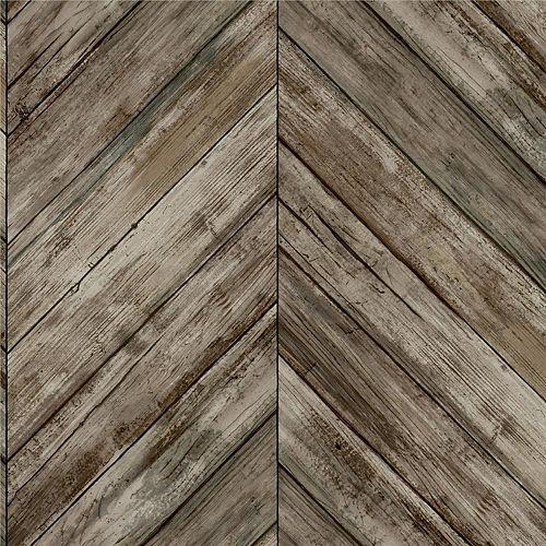 Fond d'écran Peel&Stick Herringbn Wd