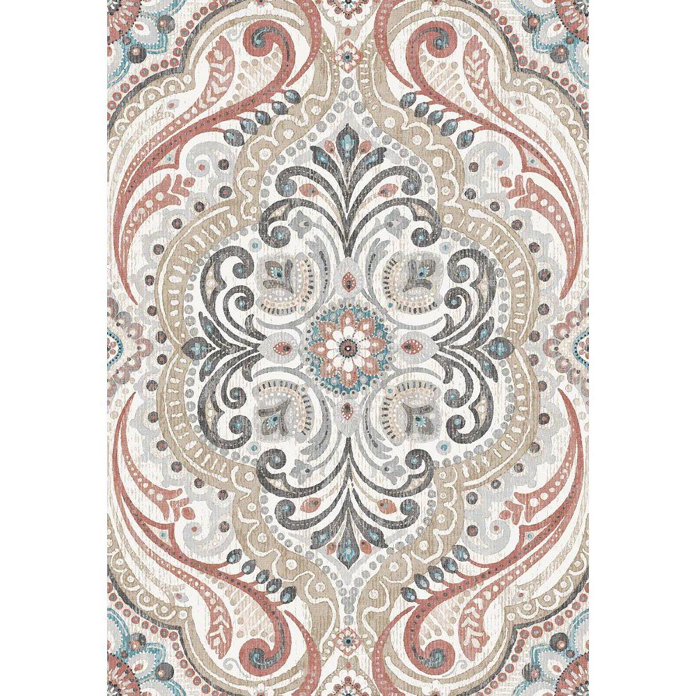 RoomMates Bohemian Damask Peel & Stick Wallpaper | The ...
