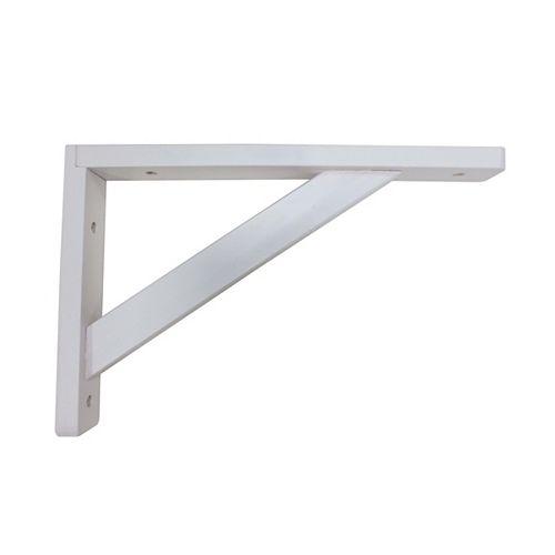 Wood Shelf Bracket - White - 15X20Cm
