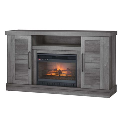 Collection Tapley 60-inch Media Console Coil Electric Fireplace