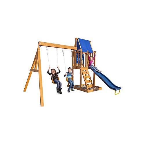 Northern Peak Wooden Swing Set