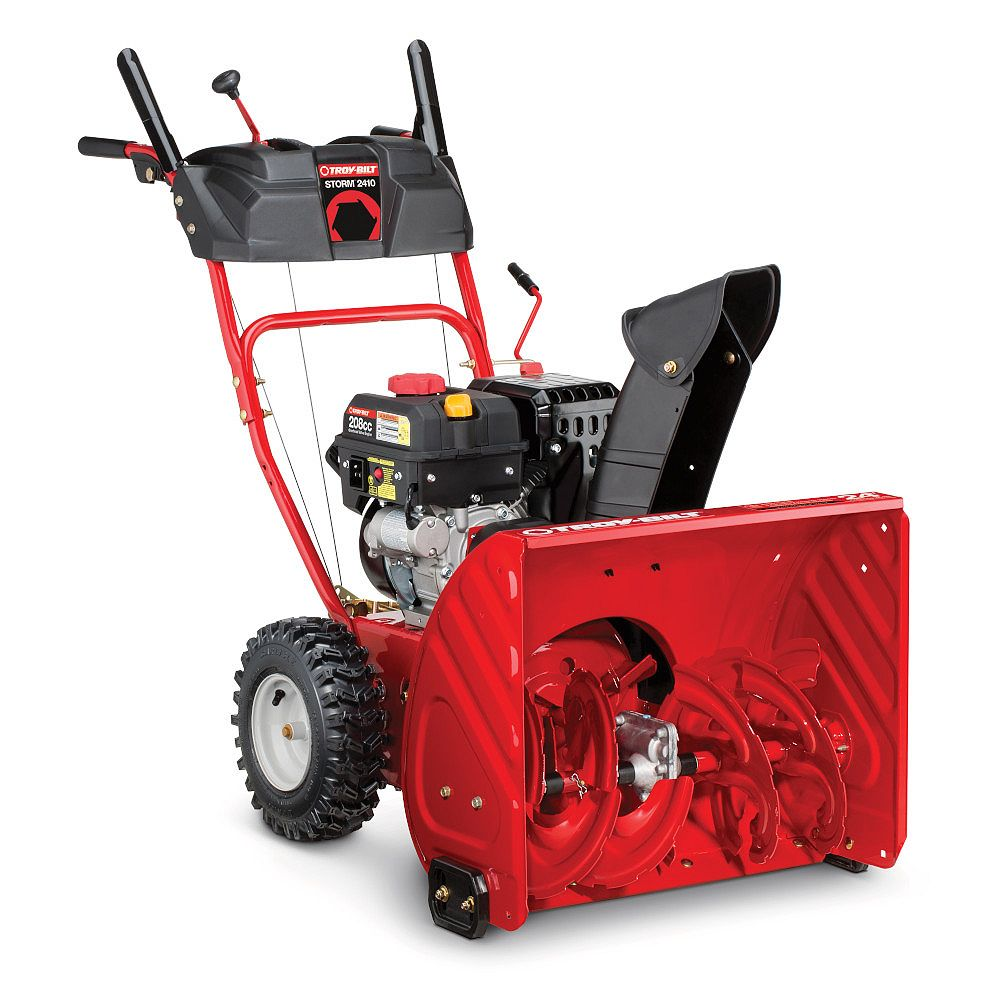 Troy-Bilt 24 inch 208cc 2-Stage Gas Snow Blower with Electric Start
