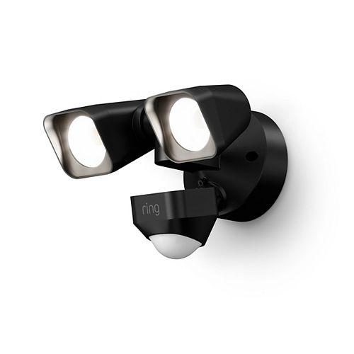 Smart Lighting Floodlight Camera Wired - Black