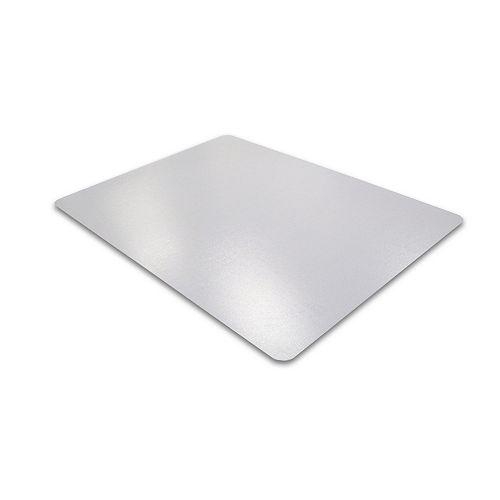 Advantagemat Sans-Phthalate PVC Fond-lisse 36x48po Sous-chaisePourProtection Des Sols Durs(129225EV)