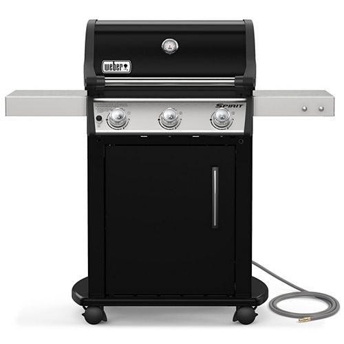 Spirit E-315 3-Burner Natural Gas BBQ in Black