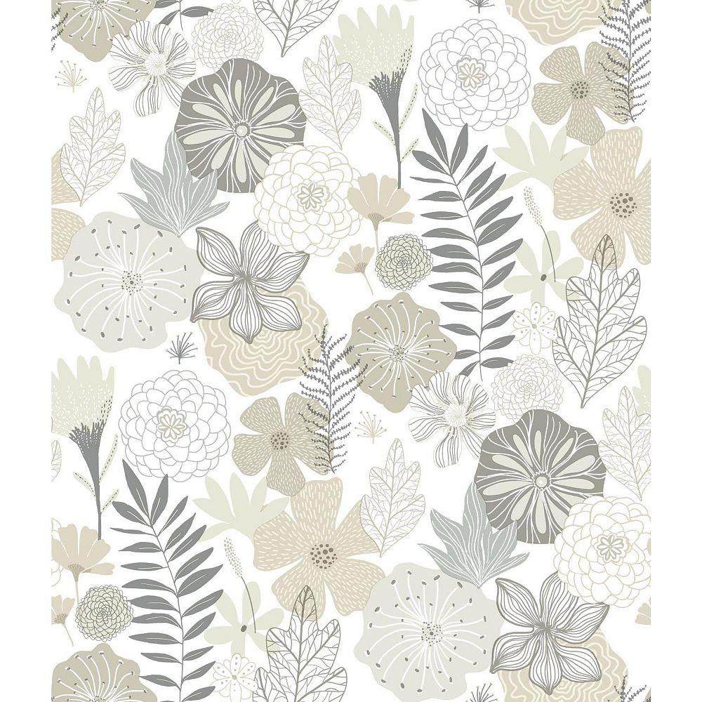 RoomMates Perennial Blooms Peel & Stick Wallpaper | The ...