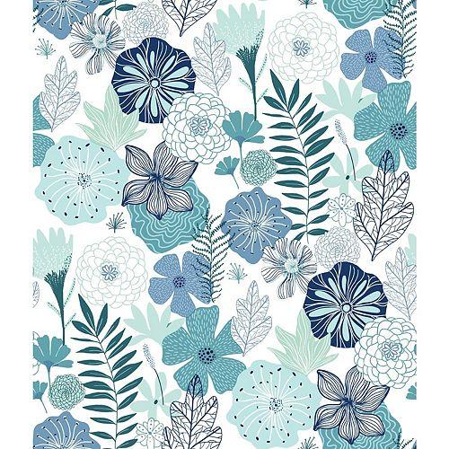 Fond d'écran Peel & Stick Perennial Blooms