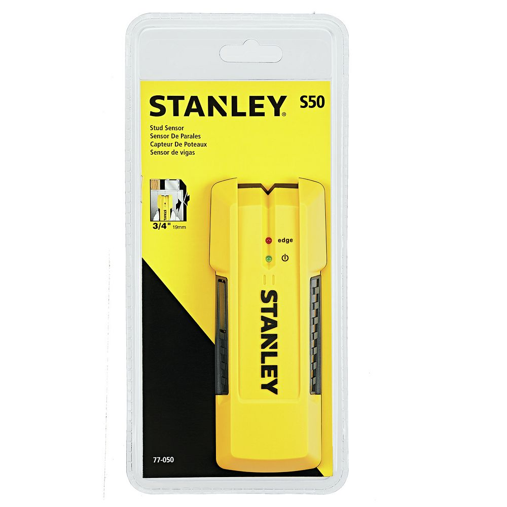 STANLEY S50 EDGE DETECT ¾-INCH STUD FINDER