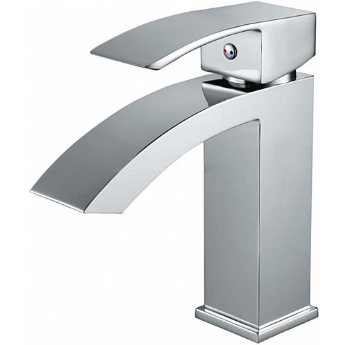 American Imaginations 3.4 inch W Chrome Faucet