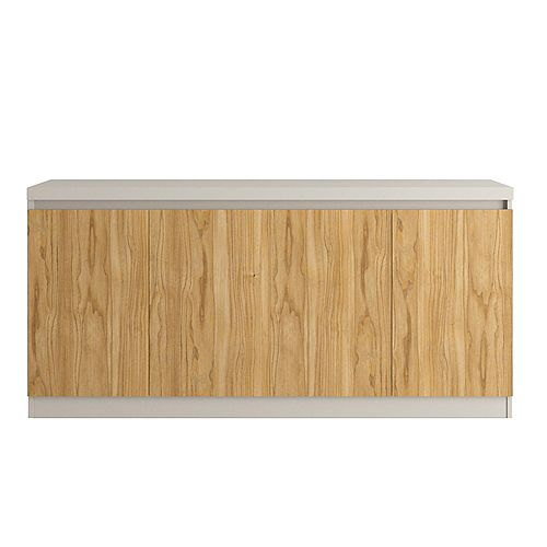 Viennese 62.99 Sideboard in Cinnamon and Off White