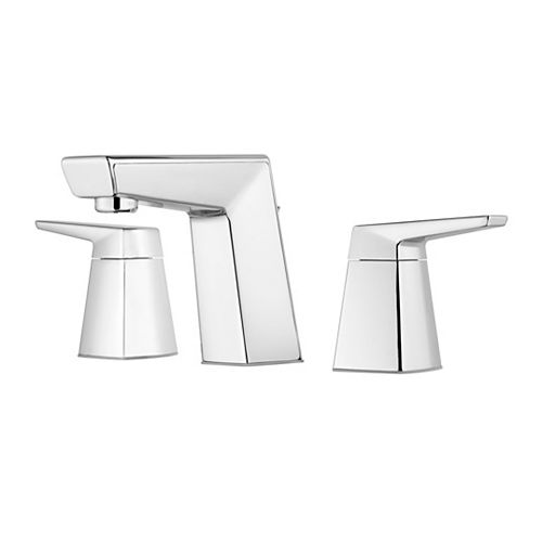 Pfister Arkitek 2-Handle 8 inch Widespread Bathroom Faucet in Polished Chrome
