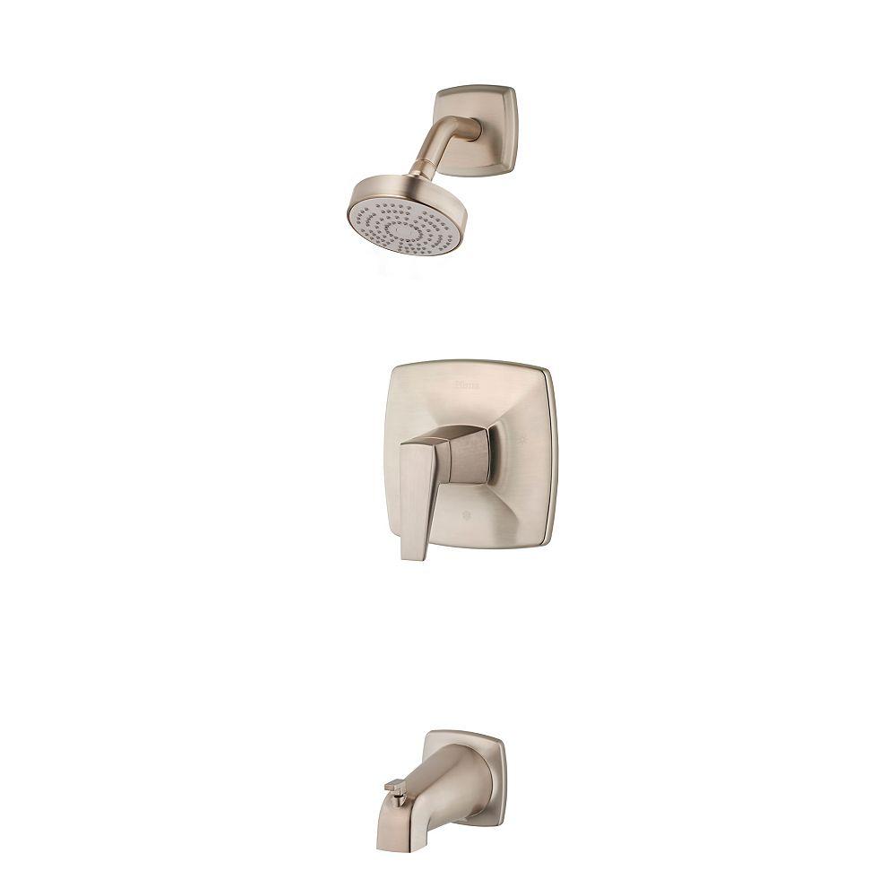 Pfister Arkitek 1-Handle Tub & Shower Trim in Brushed Nickel