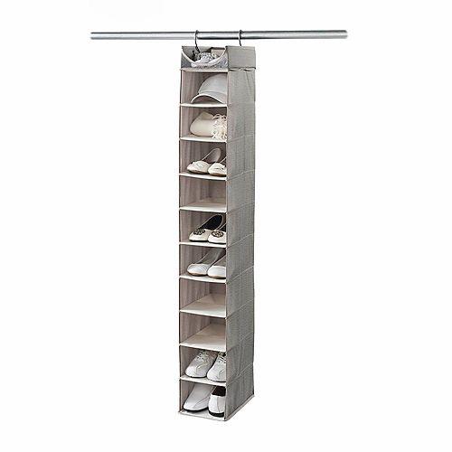 10-Shelf Closet Organizer