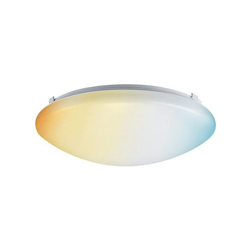 "11"" DuoBright LED Flush Mount Ceiling Light Fixture 14W Dimmable, Adjustable Color Temperature"