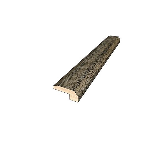 Aged Bourbon 3/8-inch Thick x 2-inch Wide x 78-inch Length Hardwood Threshold