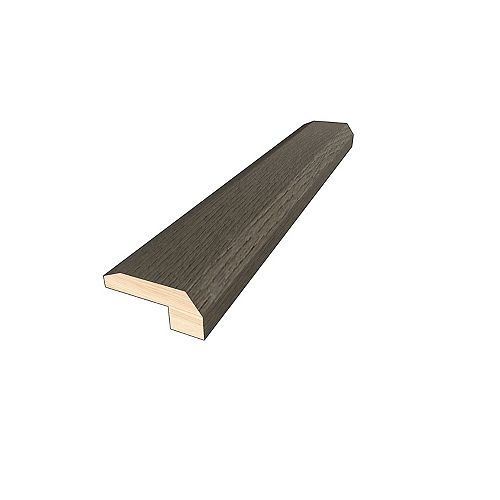 Thunder Grey 3/8-inch Thick x 2-inch Wide x 78-inch Length Hardwood Threshold