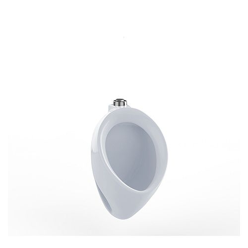 Commercial Wall-hung Washout Urinal with Top Spud in Cotton White