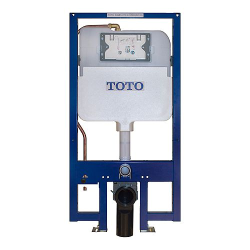 DuoFit In-Wall Tank System Dual Flush - Copper Supply with 1.28 and 0.9 GPF