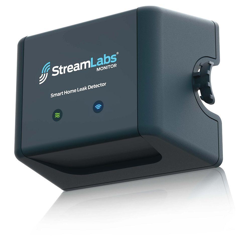 SharkBite Détecteur Monitor Streamlabs pour maison intelligente