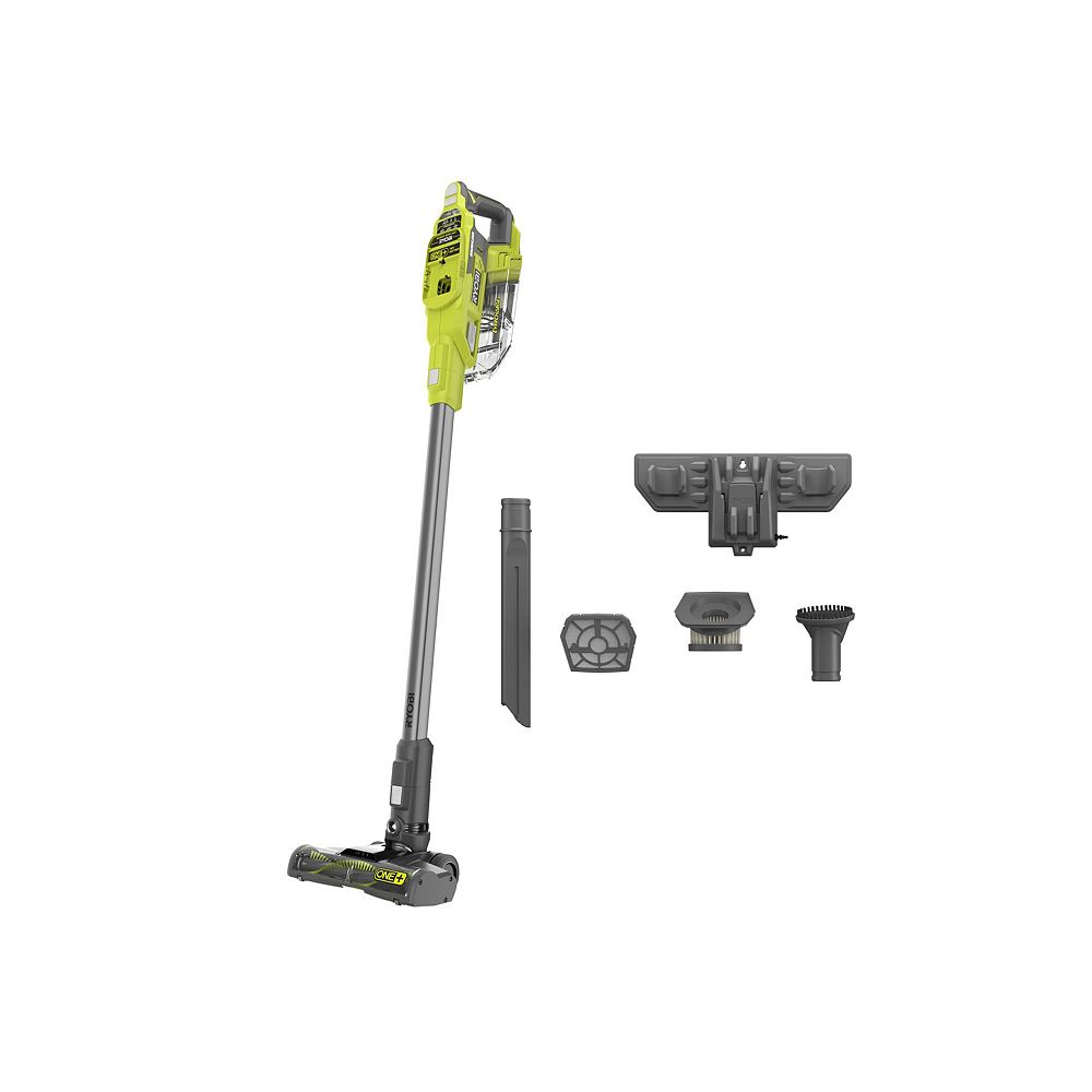 RYOBI 18V ONE+ Brushless Cordless Compact Stick Vacuum Cleaner (Tool Only)