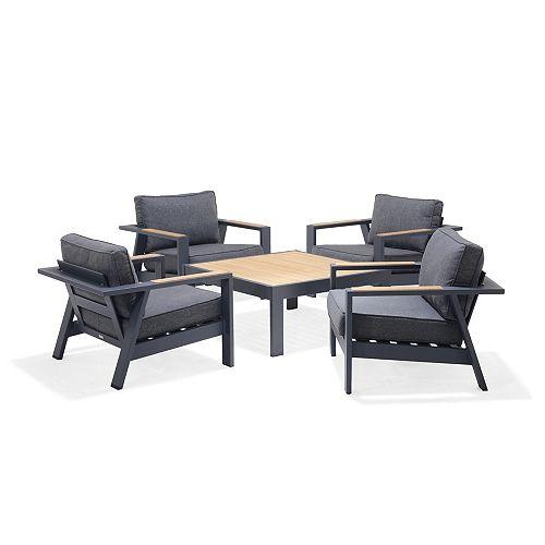 Palau 5-piece Club Chair Set
