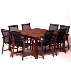 SCANCOM Alama 9-piece Dining Set
