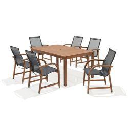 SCANCOM Alama 7-piece Dining Set