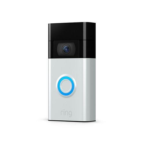 Ring Video Doorbell (2nd Generation) - Satin Nickel