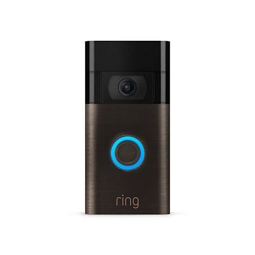 Sonnette vidéo Ring (2e génération) - Bronze vénitien