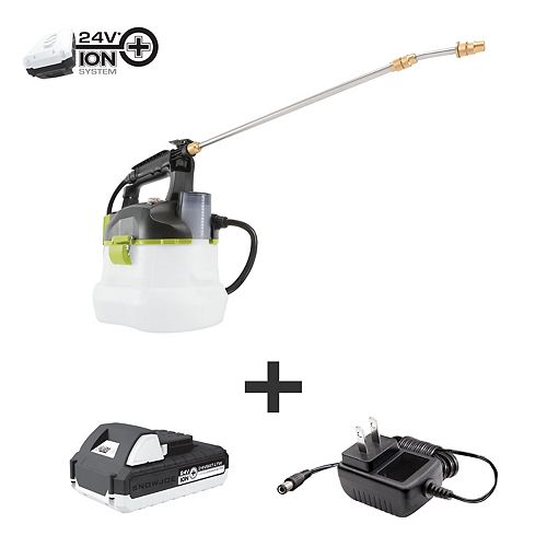 24-Volt iON+ Multi-Purpose Chemical Sprayer Kit | W/ 1.3-Ah Battery and Charger