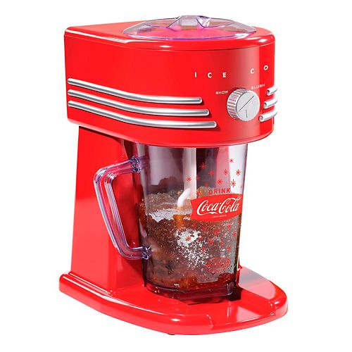 Nostalgia FBS400COKE Coca-Cola 40-Oz. Frozen Beverage Station