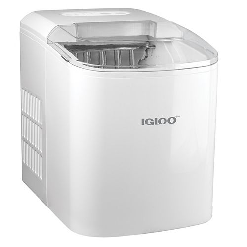 Igloo ICEB26WH 26-Lb. Automatic Ice Cube Maker, White
