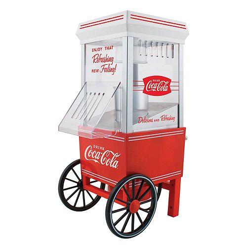 Nostalgia Nostalgia OFP501COKE Coca-Cola 12-Cup Hot Air Popcorn Maker