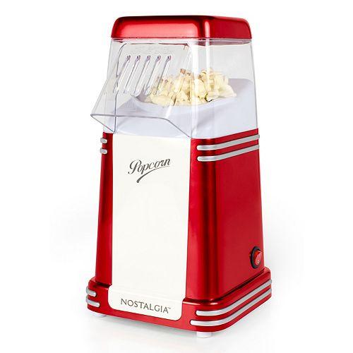 Nostalgia RHP310 Retro 8-Cup Hot Air Popcorn Maker