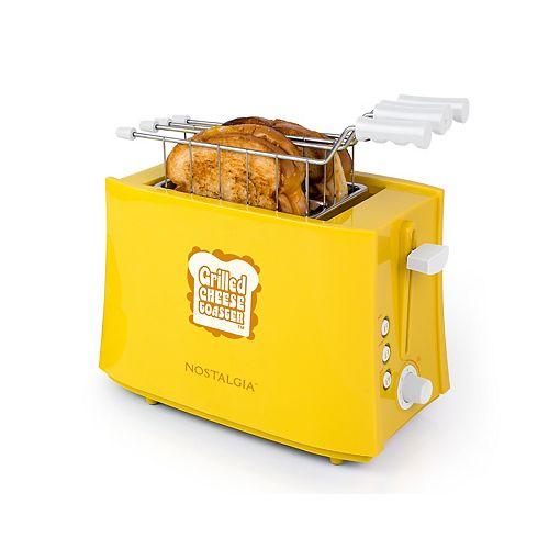 Nostalgia TCS2 Grilled Cheese Sandwich Toaster