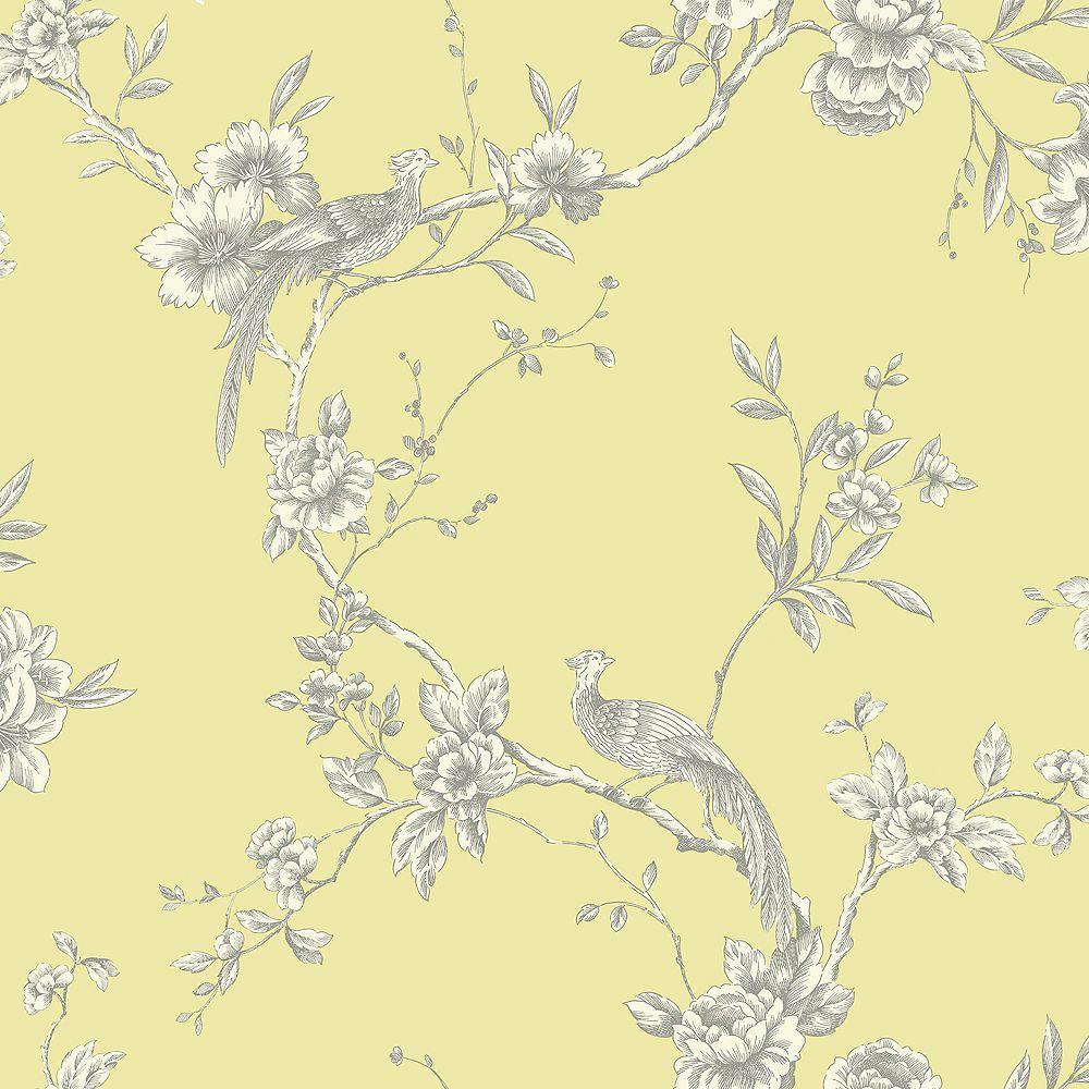 Arthouse Chinoise Yellow Wallpaper