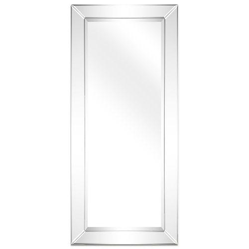 Moderno Beveled Rectangle Wall Mirror