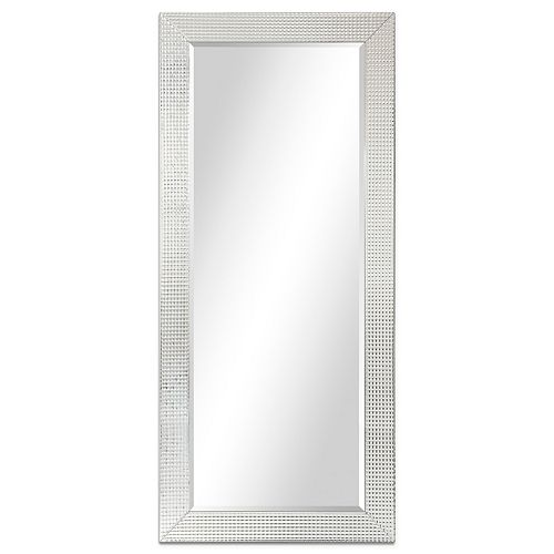 Empire Art Direct Bling Beveled Glass Rectangle Wall Mirror