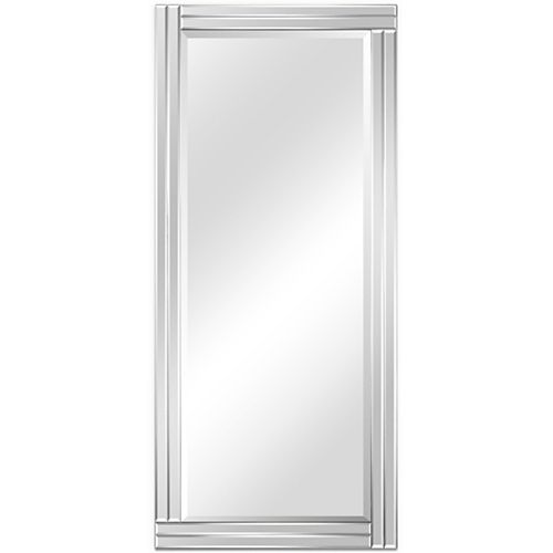Empire Art Direct Moderno Stepped Beveled Rectangle Wall Mirror