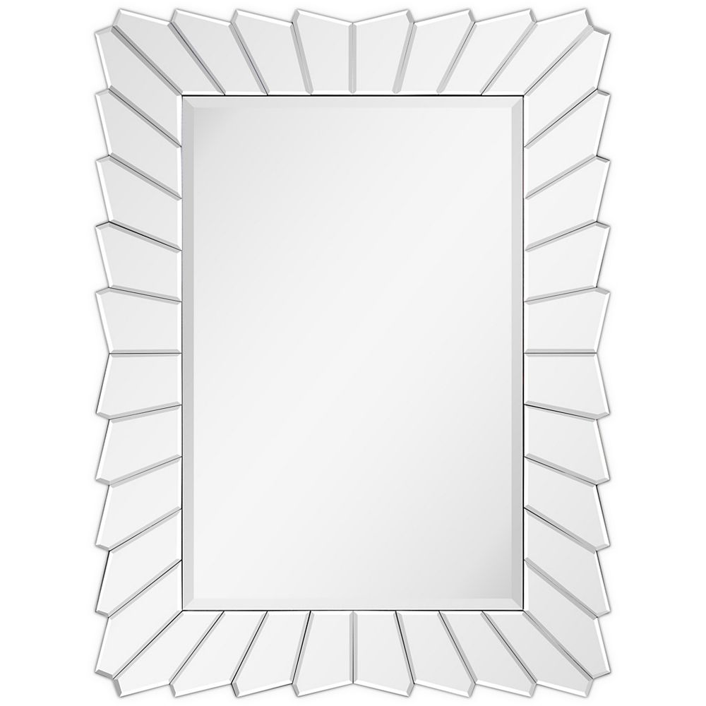 Empire Art Direct Miroir biseauté Traverse Moderno