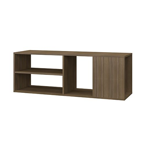 "Minetta 46"" Floating Entertainment Center in Oak"