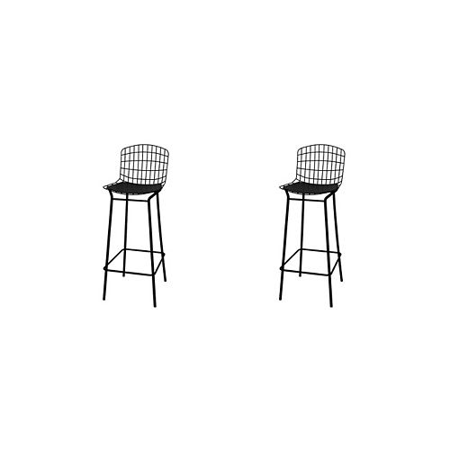 Madeline Barstool, Set of 2 in Black