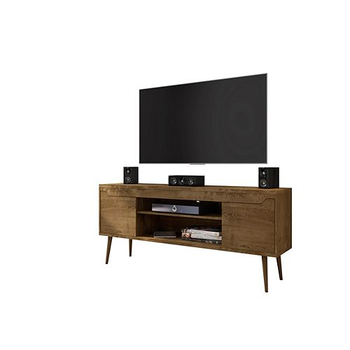 Bradley 62.99 TV Stand in Rustic Brown