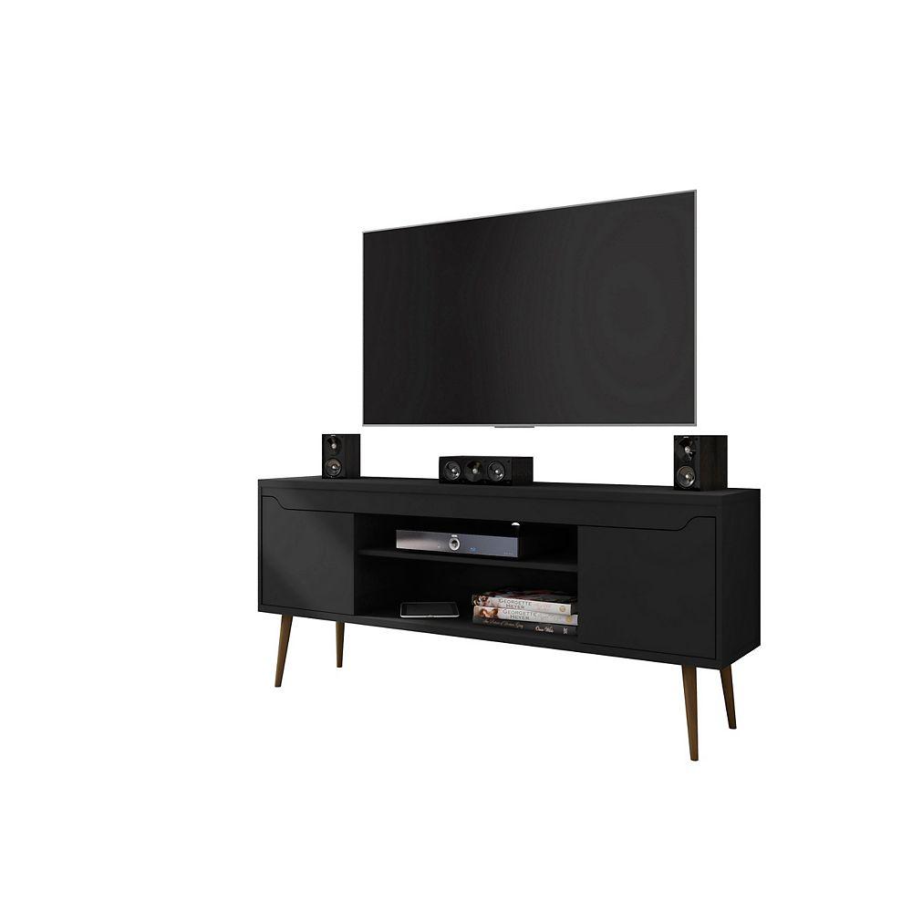 Manhattan Comfort Bradley 62.99 TV Stand in Black