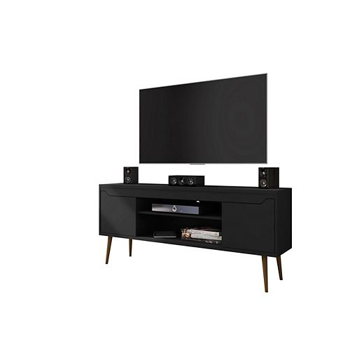 Bradley 62.99 TV Stand in Black