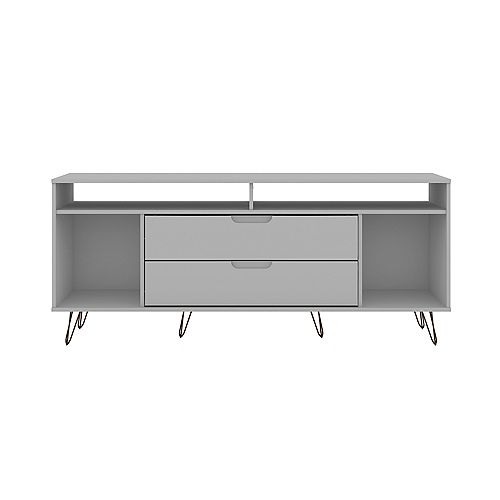 Rockefeller 62.99 TV Stand in White
