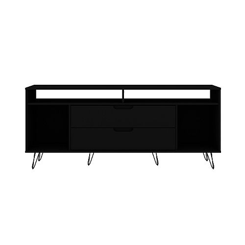 Rockefeller 62.99 TV Stand in Black