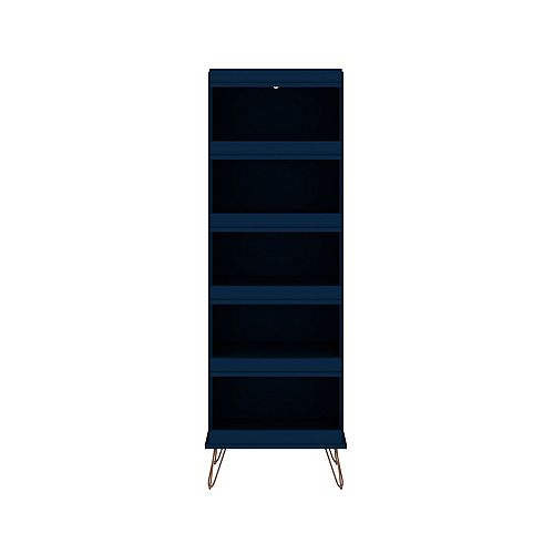 Rockefeller Shoe Storage Rack in Tatiana Midnight Blue